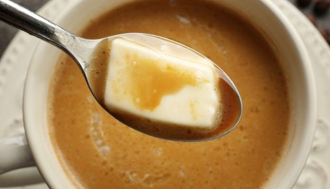 バターコーヒーの作り方のイメージ画像