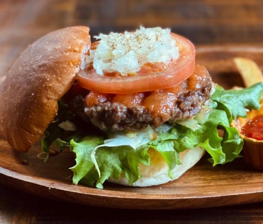 鳥取和牛のハンバーガー